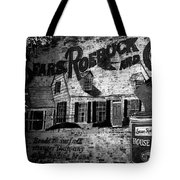 Old Sears Paint Sign Tote Bag