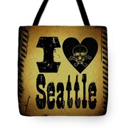 Old Seattle Tote Bag