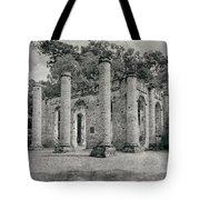 Old Sheldon Church Ruins, South Carolina Tote Bag
