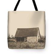 Old Shingled Farm Shack Tote Bag