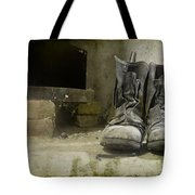 Old Shoes Tote Bag