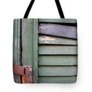 Old Shutters French Quarter Tote Bag