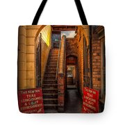 Old Signs Tote Bag by Adrian Evans