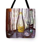 Old Soda Bottles Tote Bag