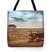 Old South Dakota Town Tote Bag by Sharon Seaward