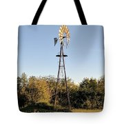 Old Southern Windmill Tote Bag