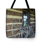 Old Spinning Wheel Tote Bag