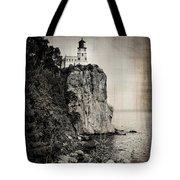 Old Split Rock Lighthouse Tote Bag