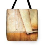 Old Spruce Boards On Top Of Each Other Tote Bag