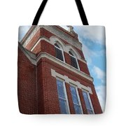 Old St Pete Steeple Tote Bag