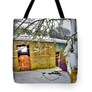 Old Stable - Silent Winter Tote Bag
