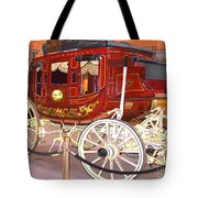 Old Stagecoach - Wells Fargo Inc. Tote Bag