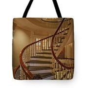 Old State House Spiral Staircase Tote Bag
