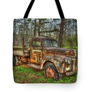Old Still Art 1947 Ford Stakebed Pickup Truck Ar Tote Bag