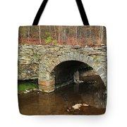 Old Stone Bridge In Illinois 1 Tote Bag