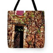 Old Stone House In Provence Tote Bag