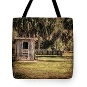 Old Storage Shed Tote Bag