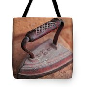 Old Stove Iron Tote Bag
