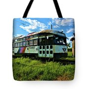 Old Street Car In Upstate New York Tote Bag