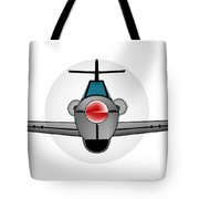 Old Style Fighter Aircraft Tote Bag