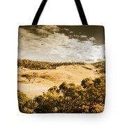 Old Summer Hills Tote Bag