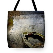 Old Sunken Boat. Tote Bag
