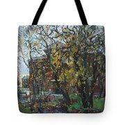 Old Swings Tote Bag