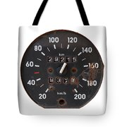 Old Tachometer Tote Bag