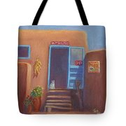 Old Taos Grocery Tote Bag