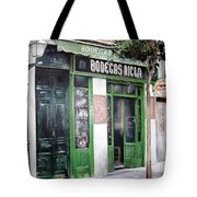 Old Tavern-madrid Tote Bag by Tomas Castano