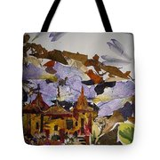 Old Temples Tote Bag