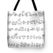Old Testament Timeline Tote Bag