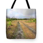 Old Texas Roads Tote Bag
