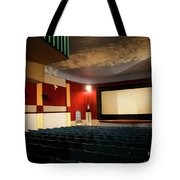 Old Theater Interior 1 Tote Bag by Marilyn Hunt