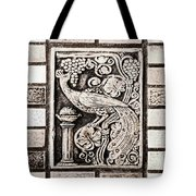 Old Theater Tilework Tote Bag