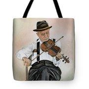 Old Time Fiddler Tote Bag