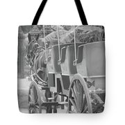 Old Time Horse And Buggy Tote Bag