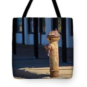 Old Time Hydrant Tote Bag