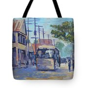 Old Time Kingston  Series Tote Bag