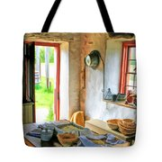 Old Time Kitchen At Old World Wisconsin Tote Bag