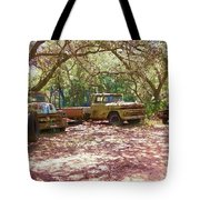 Old Time Trucks Tote Bag