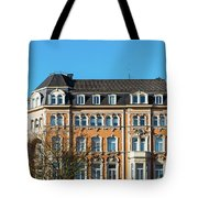 old Town buildings in Aachen, Germany Tote Bag