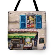 Old Town Cafe Tote Bag