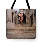 Old Town Entrance Tote Bag