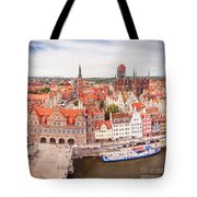 Old Town Gdansk Tote Bag