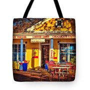 Old Town Ice Cream Parlor Tote Bag