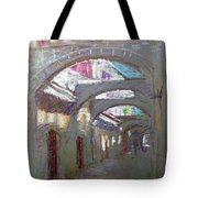 Old Town In Rhodes  Greece Tote Bag