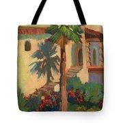 Old Town La Quinta Palm Tote Bag