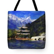 Old Town Of Lijiang Tote Bag