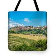 Old Town Of Orvieto, Umbria, Italy Tote Bag